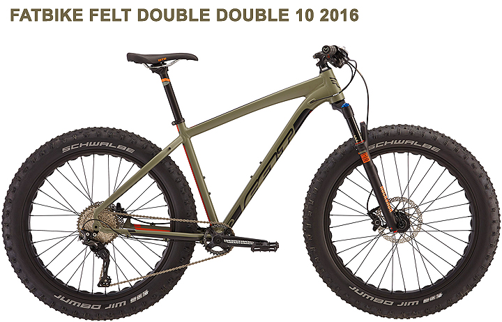 fatbike felt fat bike felt double double 2016
